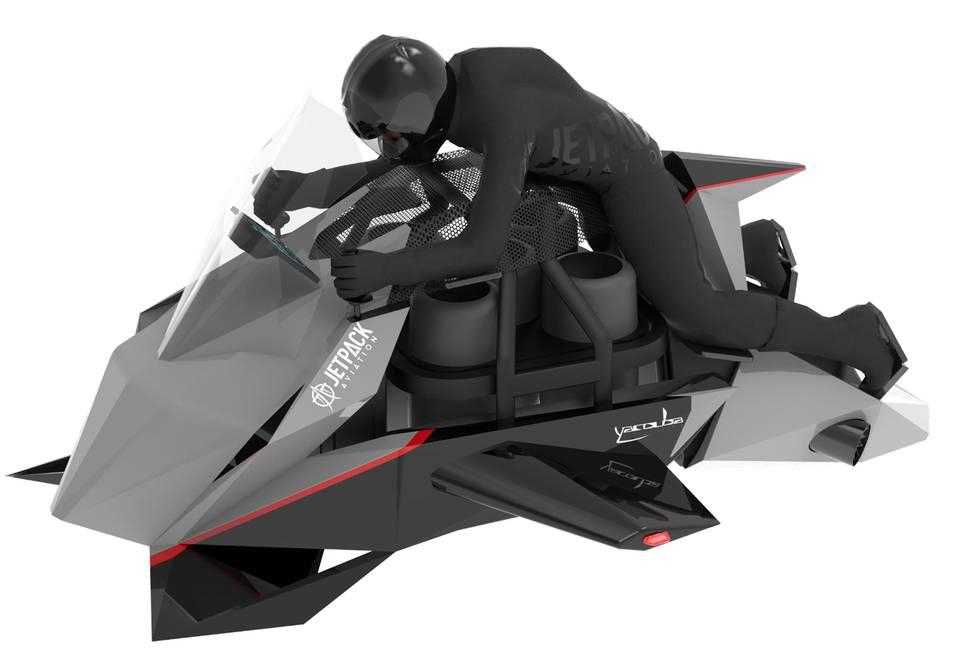 Hvad Med En Flyvende Motorcykel?